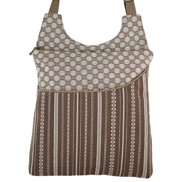 Maruca Cafe Sling Handbag in Ticking