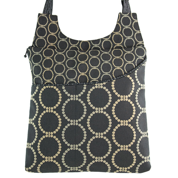 Maruca Cafe Sling Handbag in Linked Black