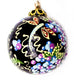 Spring Celebration Small Bulb Ceramic Ornament