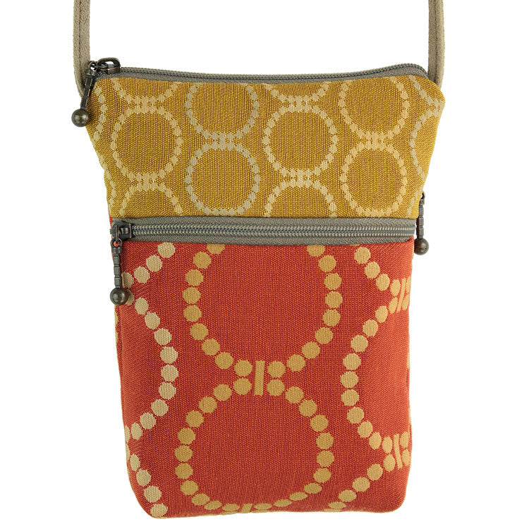 Maruca Sprout Handbag in Linked Orange