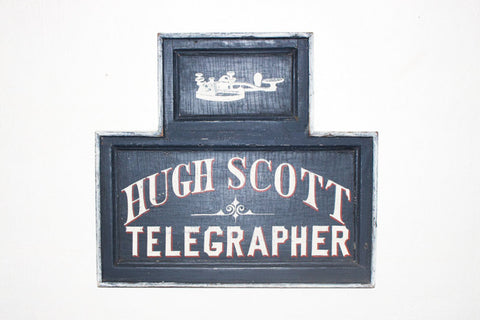 Hugh Scott, Telegrapher Americana Art