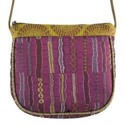 Maruca Village Handbag in Stitch Sample