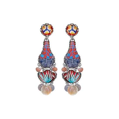 Afro-Desia Earth Earrings by Ayala Bar