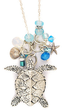 Sea Turtle Large Necklace by Desert Heart