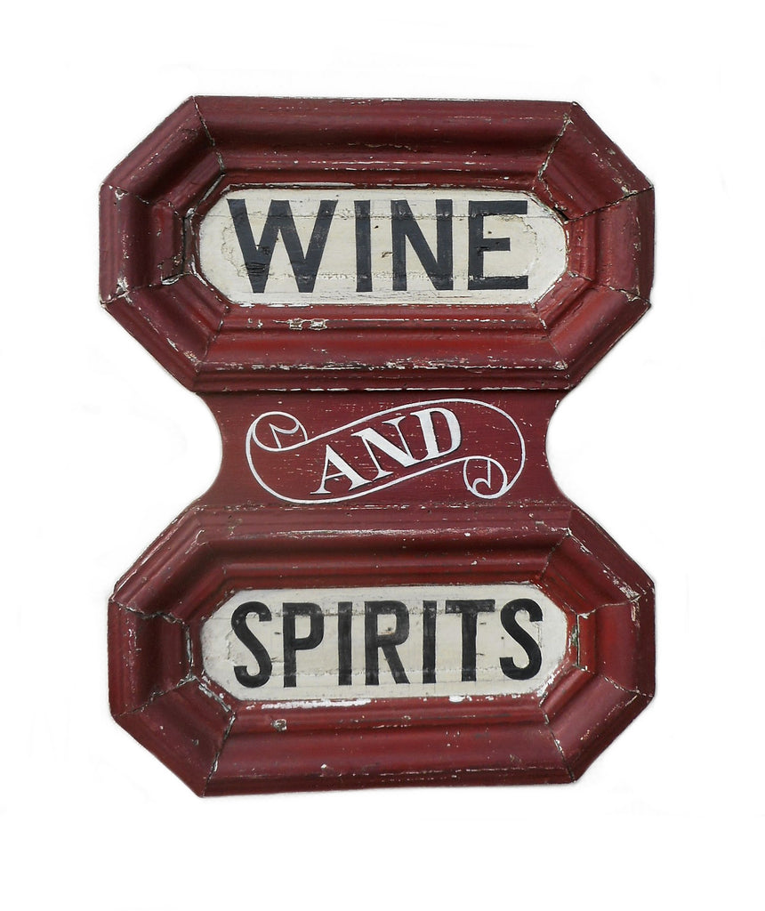 Wine and Spirits (Red) Americana Art