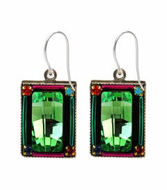 Multi Color Emerald City Earrings by Firefly Jewelry