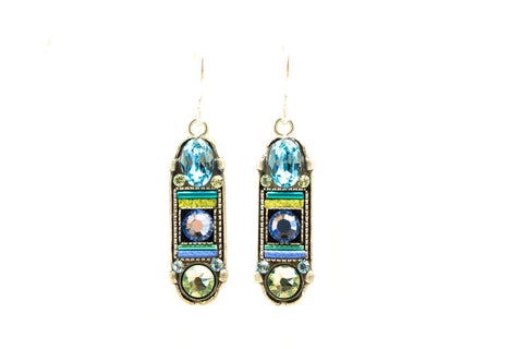 Aqua La Dolce Vita Oval with Hope & Dream Earrings by Firefly Jewelry