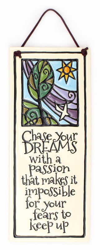 Chase Dreams Ceramic Tile