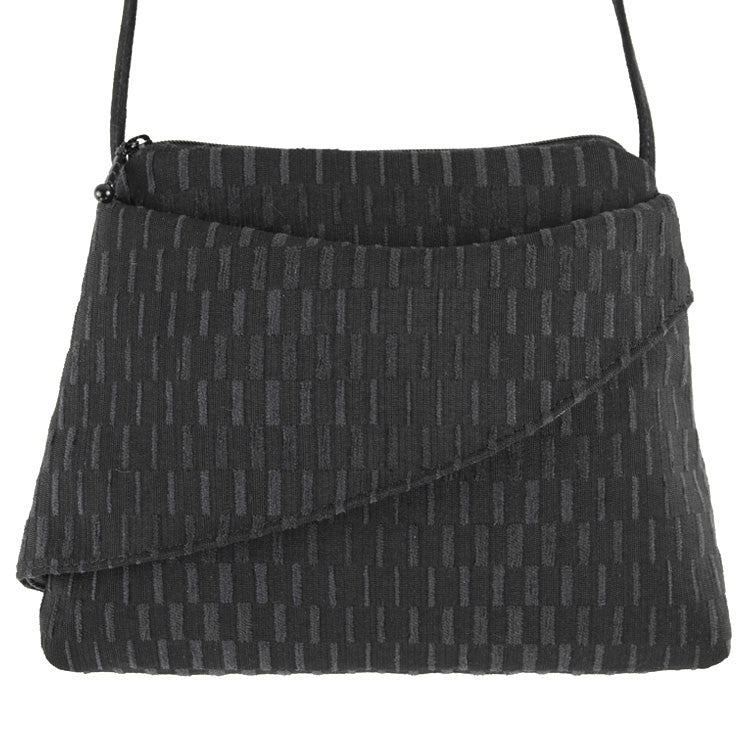 Maruca Calla Handbag in Basket Black