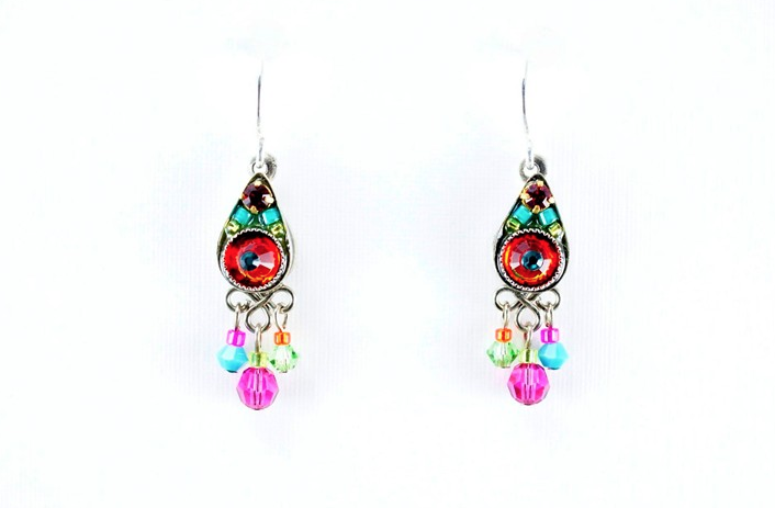 Multi Color Petite Earrings by Firefly Jewelry