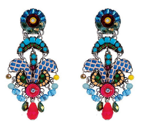 Cornflower Earrings by Ayala Bar