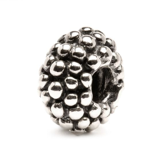 Large Berry Sterling Silver Bead by Trollbeads