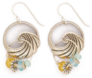 The Outer Banks Wave Earrings by Desert Heart