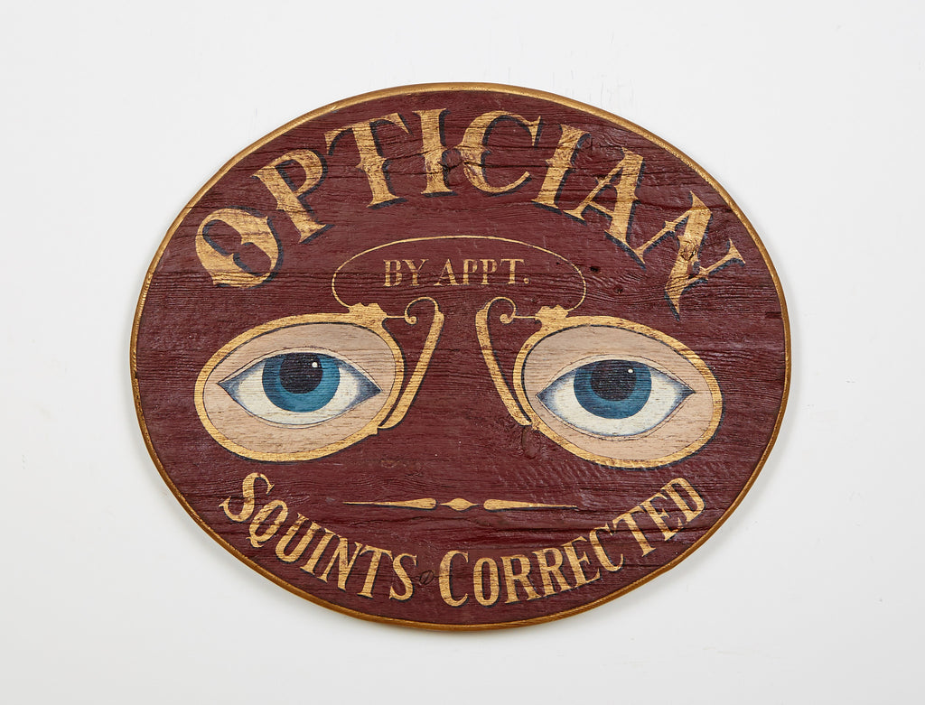 Optician Sign Americana Art