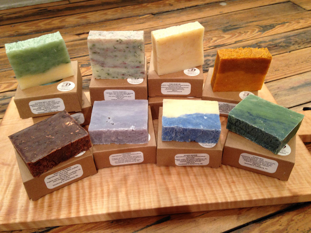 Green Clover Field Handmade Natural Soap