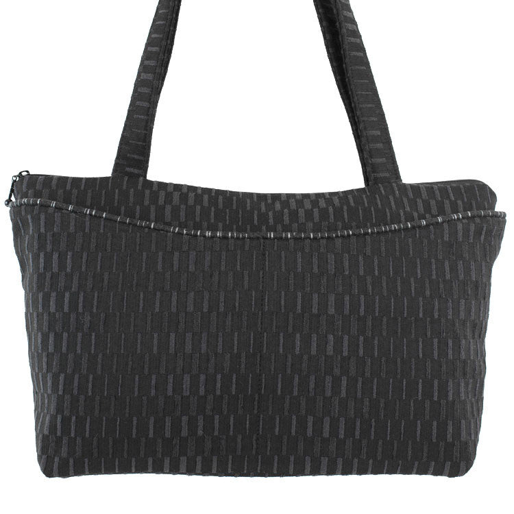 Maruca Andie Handbag in Basket Black