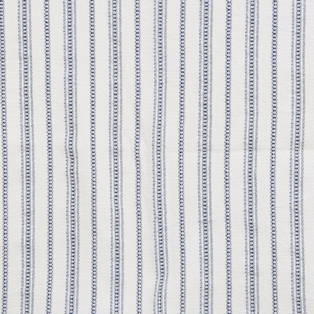 Chain Stripe Square in Indigo