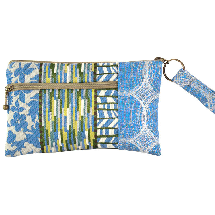Maruca Beetle Wristlet in Calico