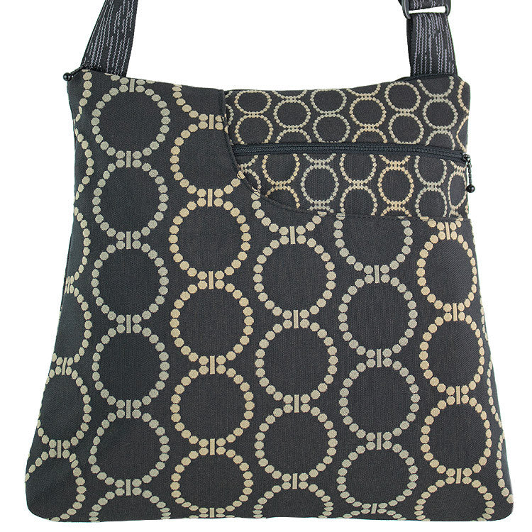 Maruca Worker Bee Handbag in Linked Black