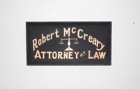 Robert McCreary, Attorney Americana Art