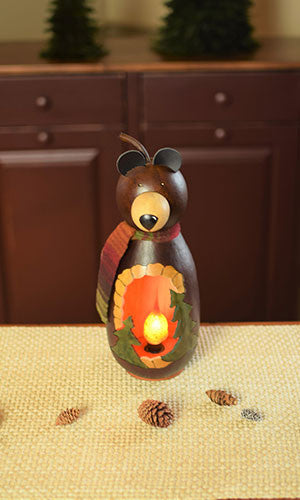 Buddy the Bear Small Tall Gourd