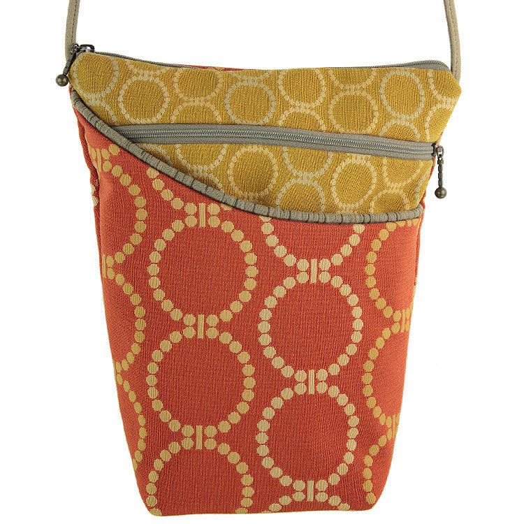 Maruca City Girl Handbag in Linked Orange