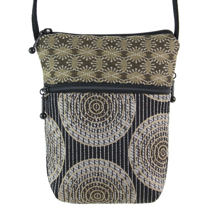 Maruca Sprout Handbag in Sliced Black