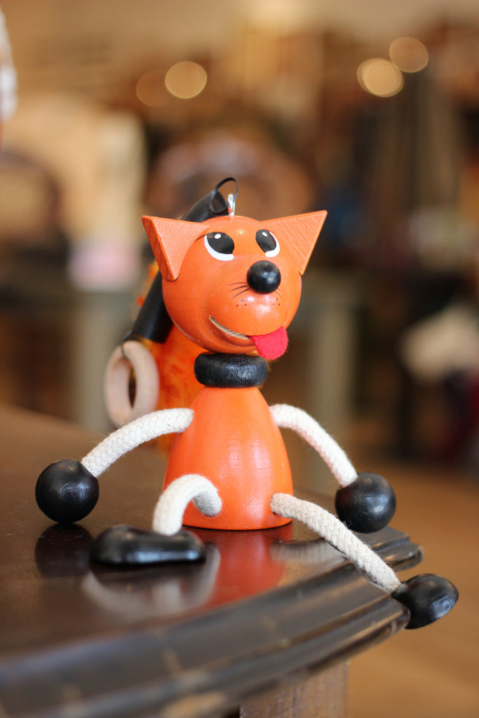 Fox Handcrafted Wooden Jumpie