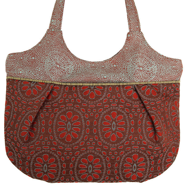 Maruca Monarch Handbag in Sari Red
