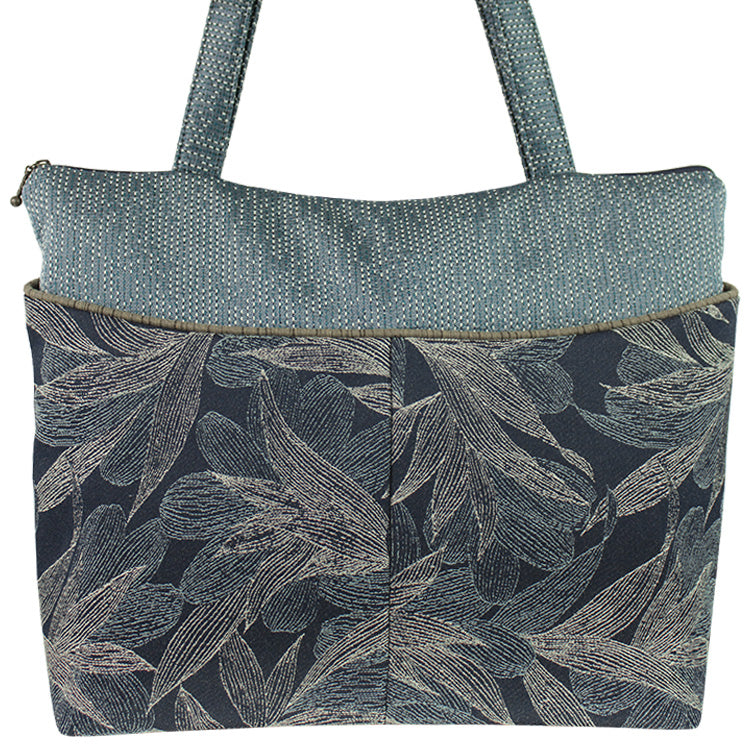 Maruca Tote Bag in Kelp Navy