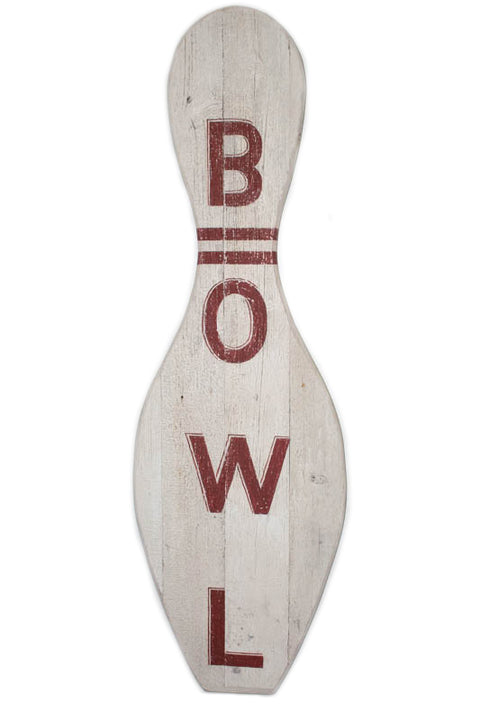 Bowl Bowling Pin Americana Art