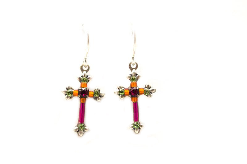 earrings sylvana product fuschia erc jewelry shop amrita singh