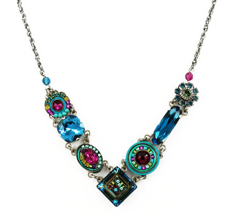 Indicolite La Dolce Vita Necklace by Firefly Jewelry