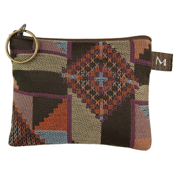 Maruca Coin Purse in Quilt Earth