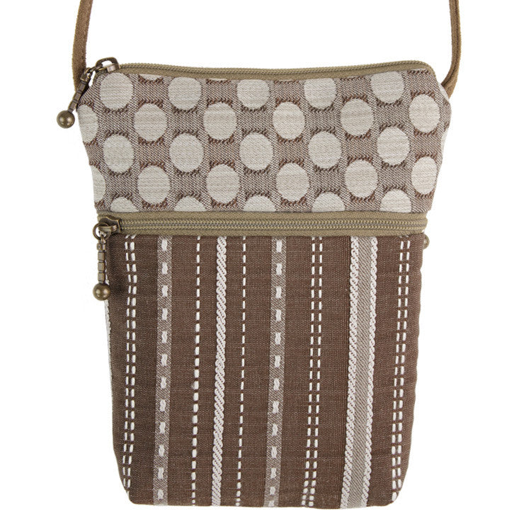 Maruca Sprout Handbag in Ticking
