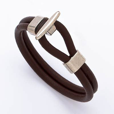 Loop Leather Bracelet