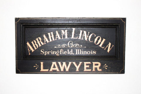 Abraham Lincoln, Lawyer Americana Art