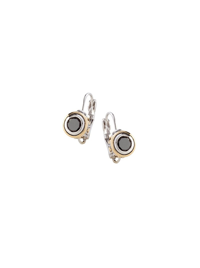 Beijos 6mm CZ Bezel Set Earrings by John Medeiros