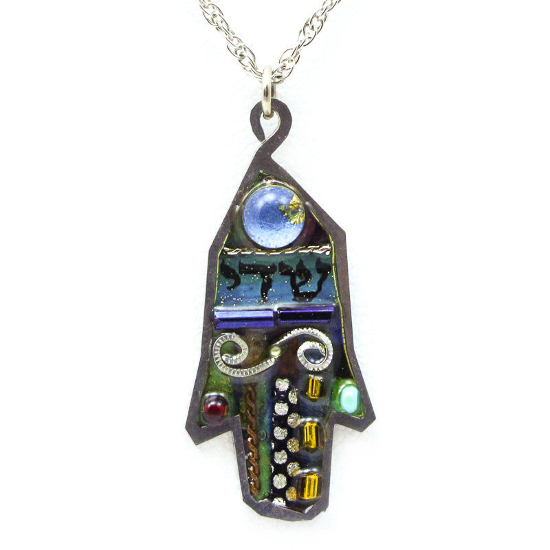 Windswept Plains Hamsa Necklace