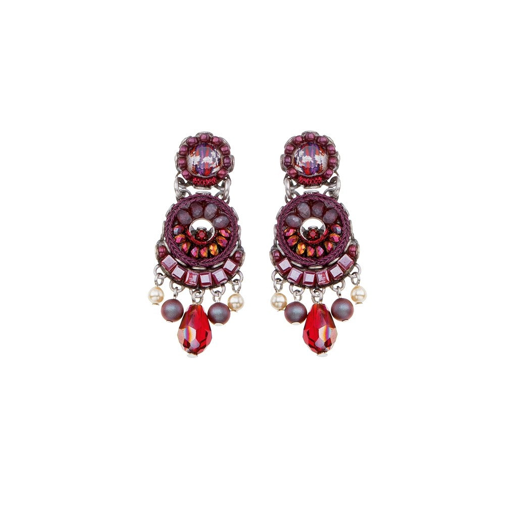 Ruby Tuesday Ellen Earrings by Ayala Bar