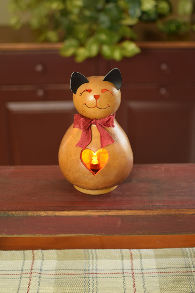 Betty the Cat Gourd - Available in Multiple Sizes