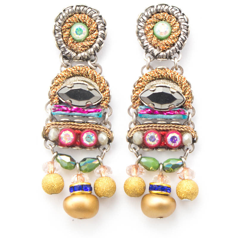 Golden Dawn Classic Collection Earrings by Ayala Bar