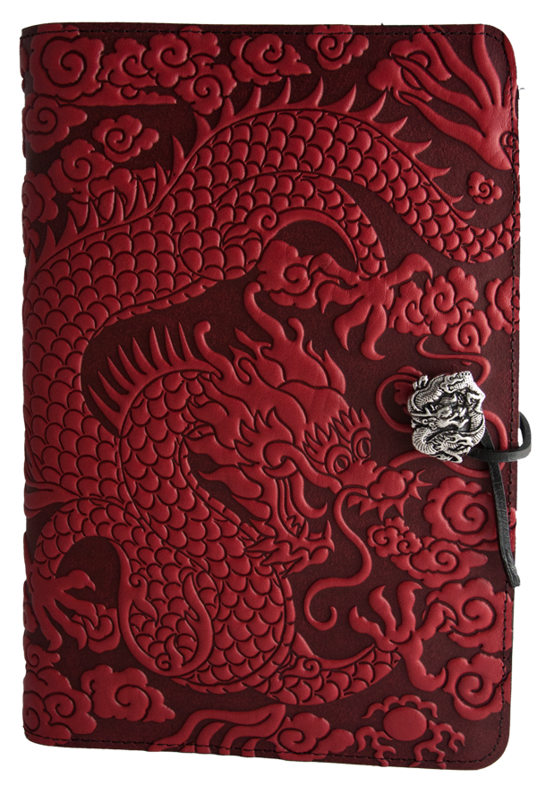 Cloud Dragon Large Journal in Red