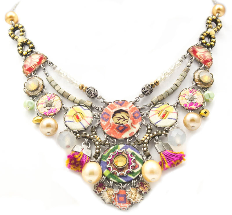 Vivid Tangerine Hip Collection Necklace by Ayala Bar