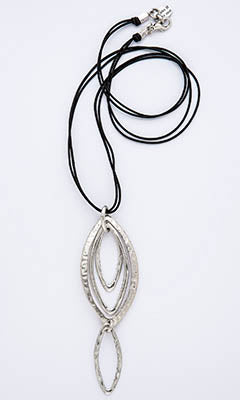 Multi Teardrop Necklace