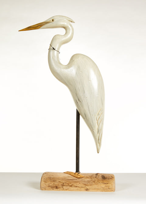 Great White Heron by Paul Irving