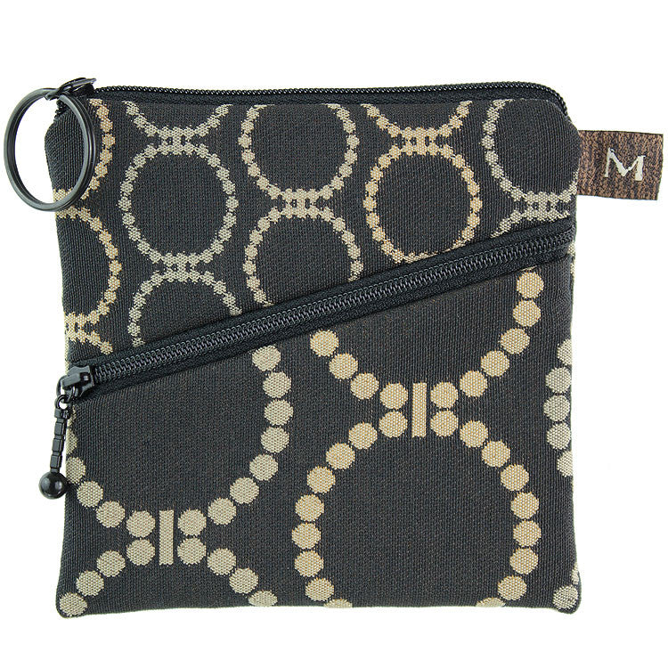 Maruca Roo Pouch in Linked Black