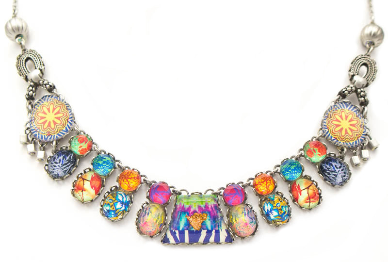 Turkish Tile Medium Radiance Collection Necklace by Ayala Bar