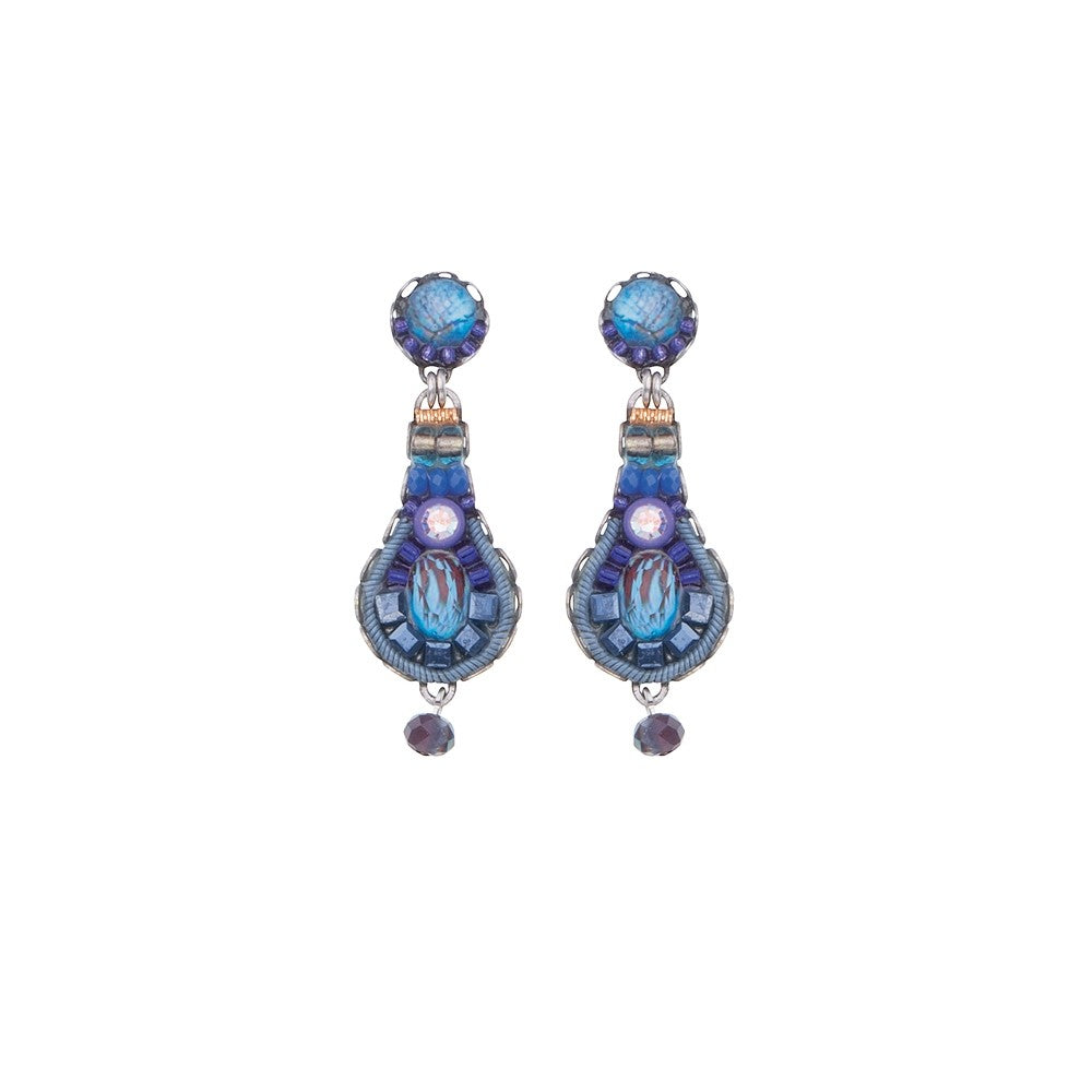 Sapphire Rain Royale Earrings by Ayala Bar