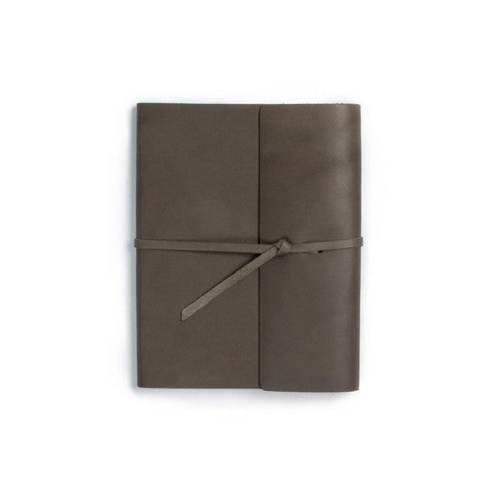 Leather Writers Log with Lined Paper - Available in Multiple Colors